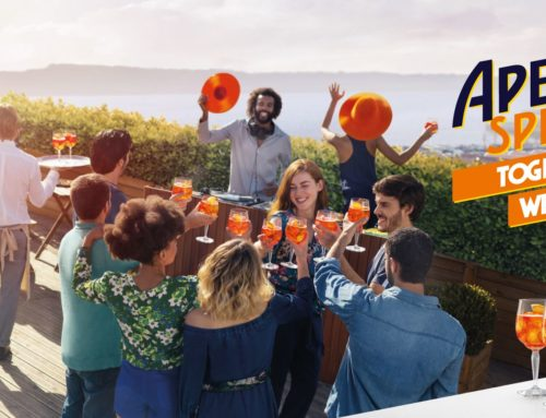 "Lisboa e Aperol dizem: ""Together We Joy"""